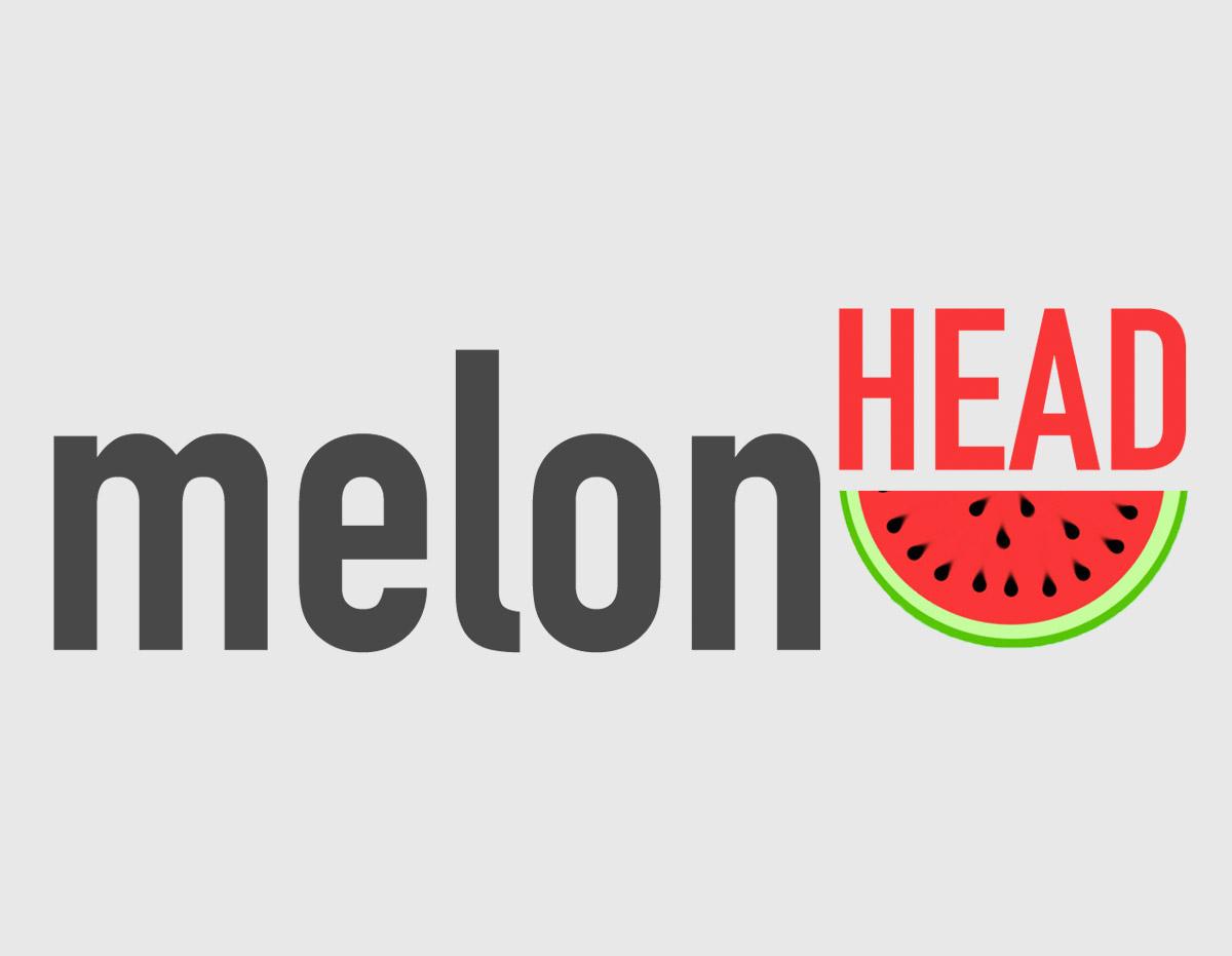 Projekt logotypu dla Melon Head