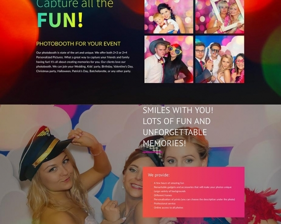 Photobooth For Smile